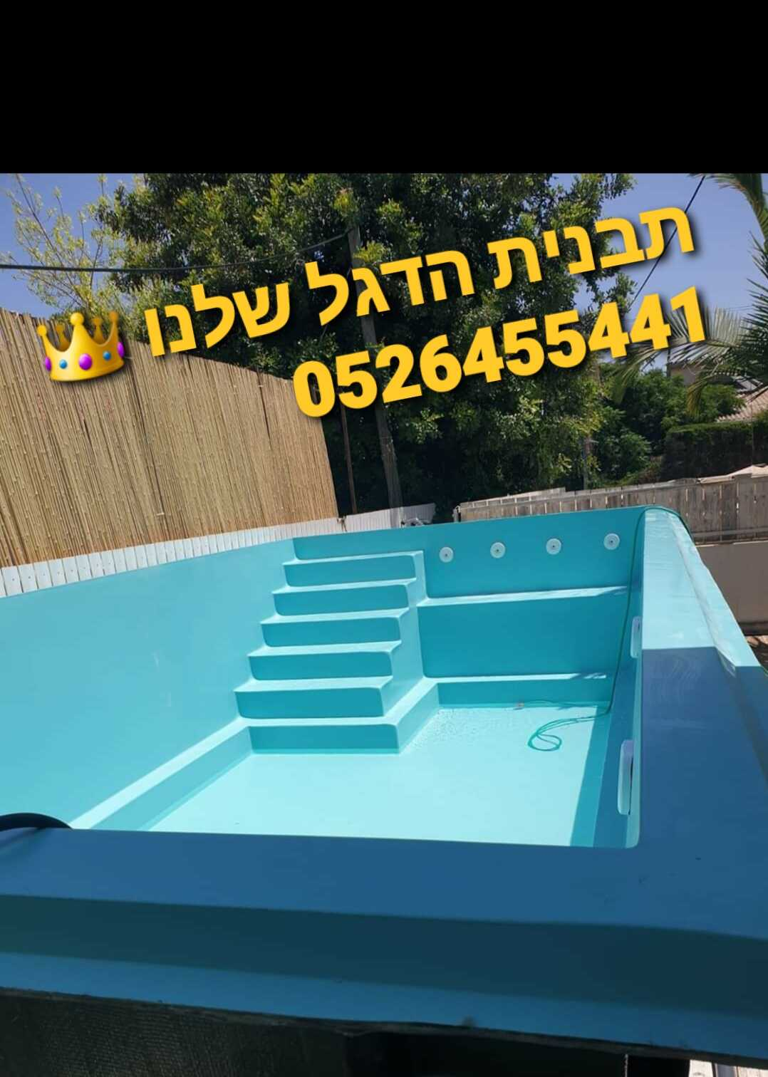 בריכות שחייה king pools