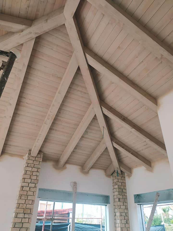 אלון בנייה טבעית גג